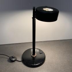Lampe bureau métal noir