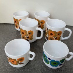 VENDU-Lot  4 Mugs LOTUS...