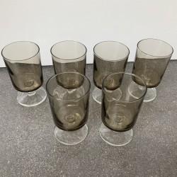 Lot de 6 verres a liqueur...