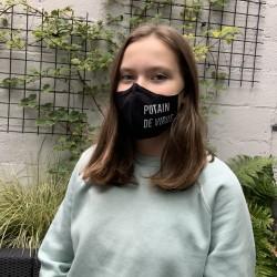 Masque «Putain de virus»...