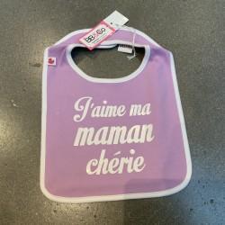 Bavoir «J'aime ma maman...